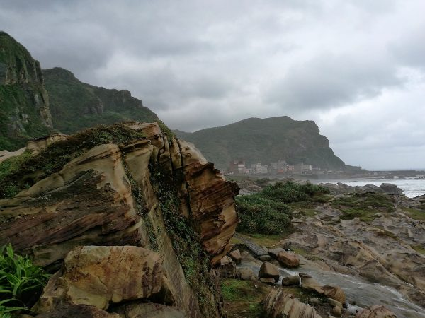 Nanya Rock formation on the Northeast Coast of Taiwan