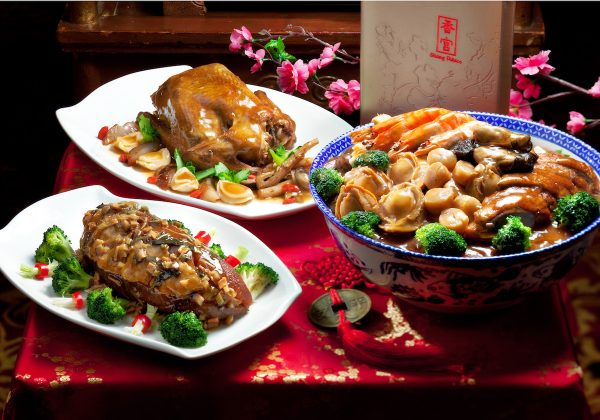 Poon Choy and other prosperity dishes for 2017 Chinese New Year at Shang Palace