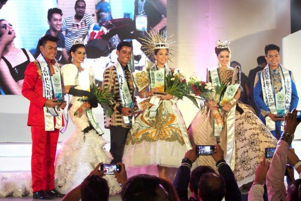 MIMAROPA Festival pageant winners. Photo by Teddy Pelaez.
