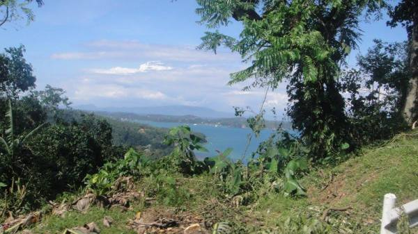 A scenic panorama on the main highway of Oriental Mindoro