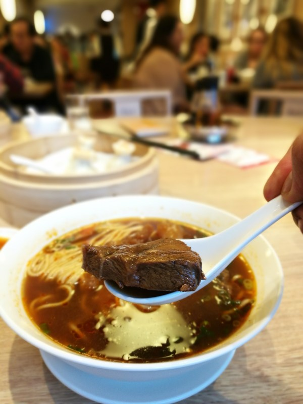 Beef Noodles at Din Tai Fung