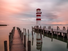Lighthouse in Burgenland, Austria