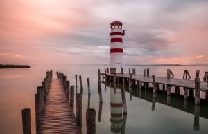 Lighthouse in Burgenland, Austria
