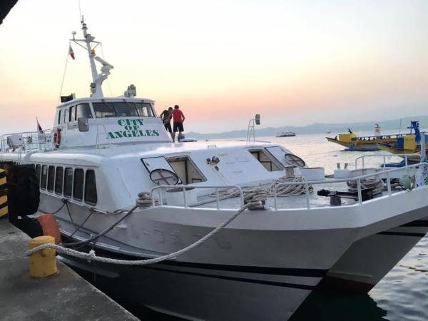 M/V City of Angeles by Montenegros Shipping Lines ready to sail at Batangas Pier