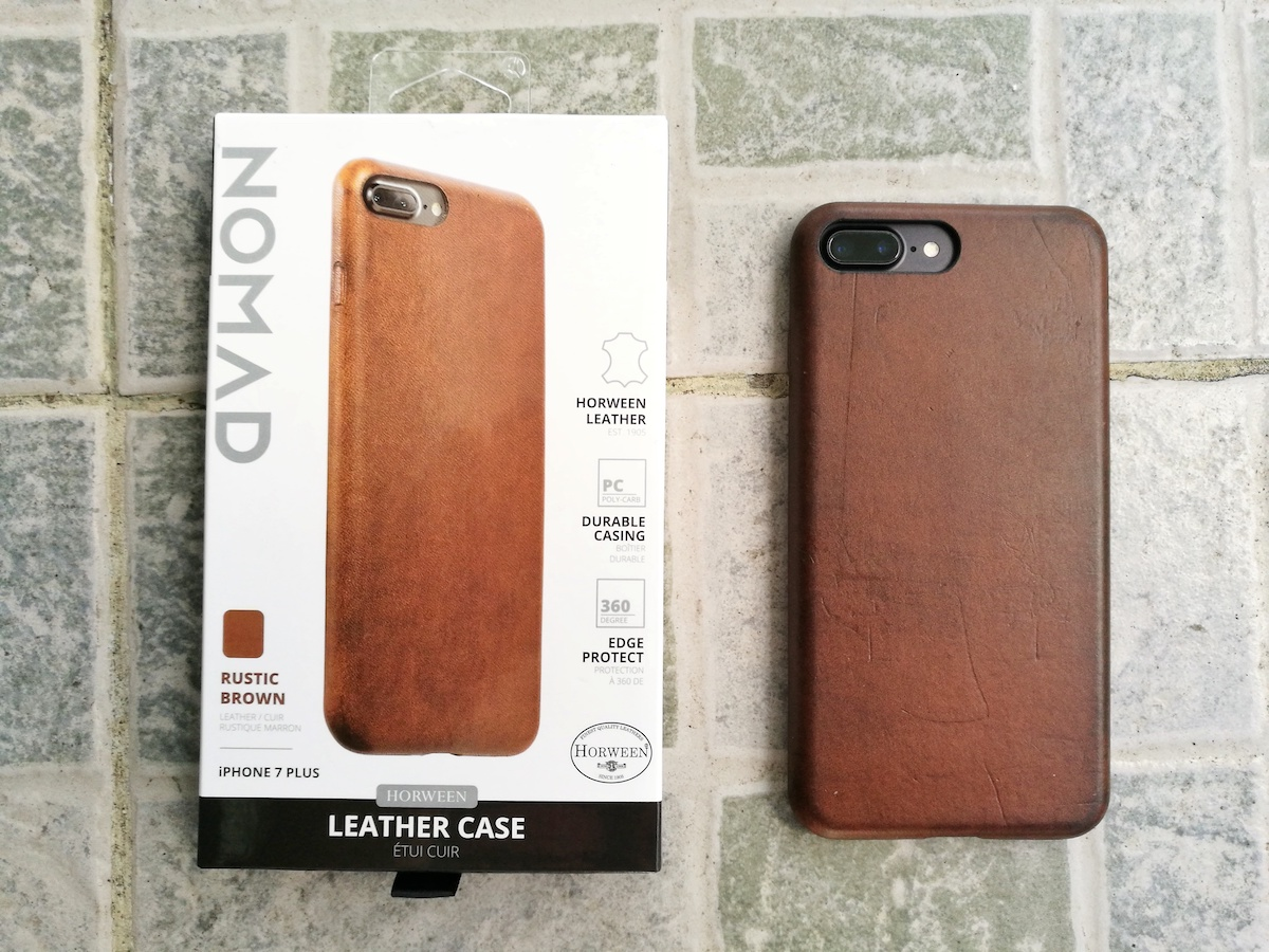 low priced 3630e 73642 Travel Gadget: Nomad Leather Case for Apple iPhone 7 Plus Review ...