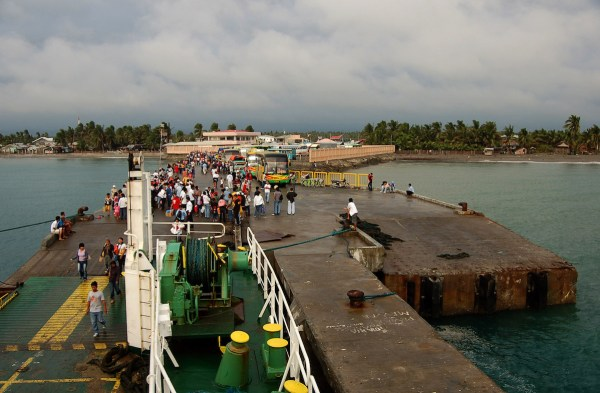 Roxas Port, the gateway to Caticlan