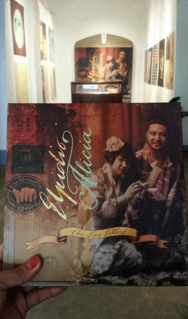 Elipido and Alicia, The Love Letters Book