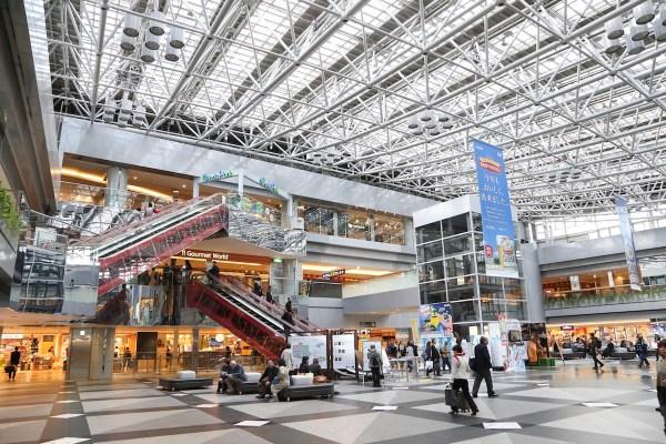 New Chitose Airport in Hokkaido Japan
