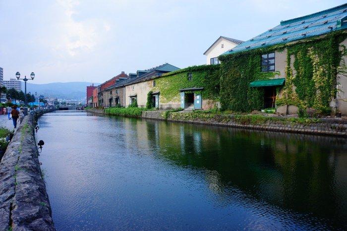 Otaru Canal in Hokkaido Japan