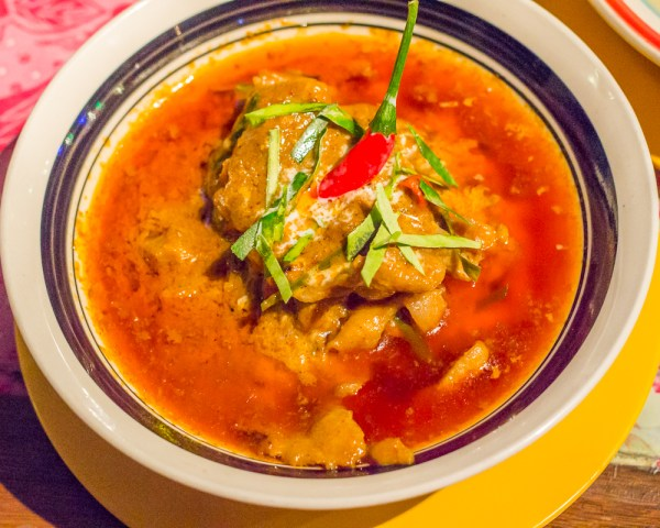 Penang Curry, or the Red Curry