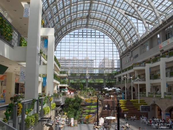 The Atrium in the Sapporo Factory