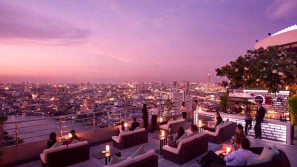 Three Sixty at Millennium Hilton in Bangkok