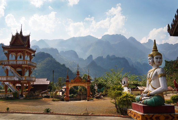 Buddhist Temple in Laos