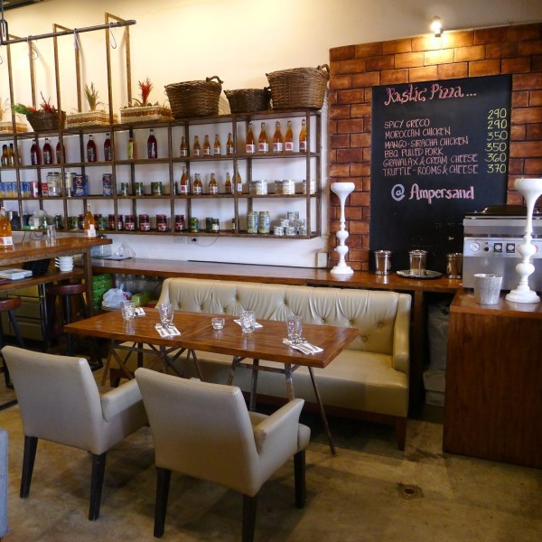 Classic and rustic themed interiors - Ampersand Bar, Restaurant and Deli