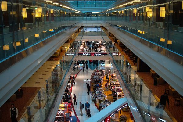 Dubai International Airport Duty Free Area