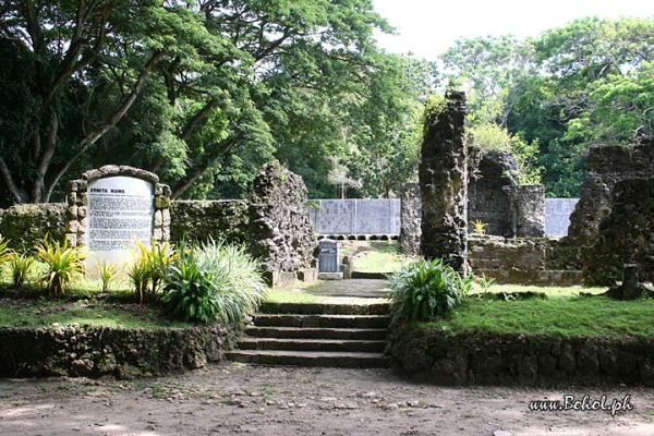 Ermita Ruins photo by Bohol.ph