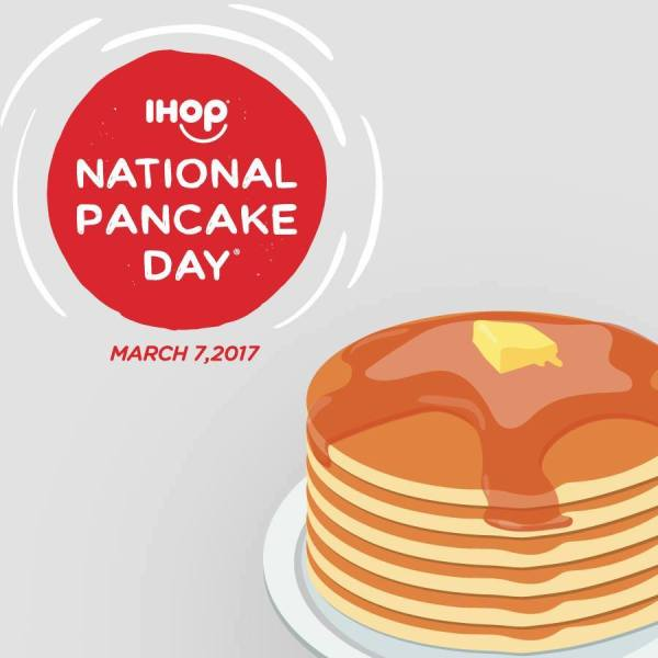 IHOP National Pancake Day 2017 this March 7