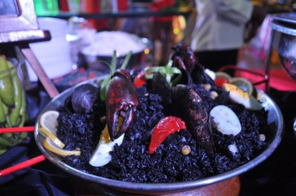 Paella Negra at last year's Savores in Zamboanga City.