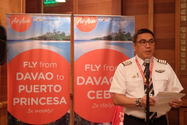 Philippines AirAsia CEO Dexter Comendador during the Davao event