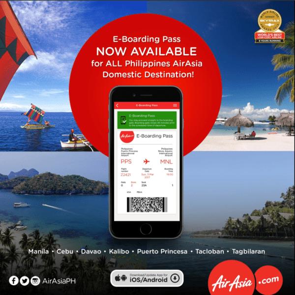 Philippines AirAsia e-Boarding Pass