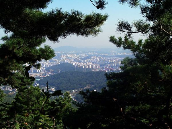 View from Mt. Gwanggyosan
