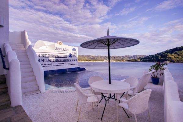 Vitalis Villas Infinity Pool in Ilocos Sur