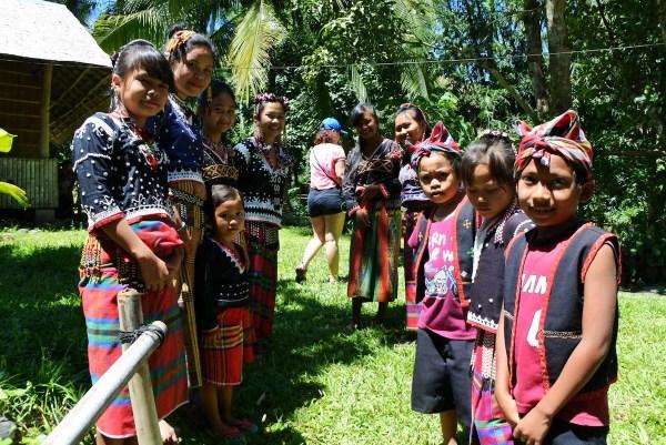 A warm welcome from Blaan Community of Sarangani