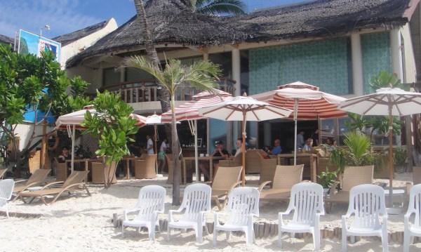 BBC's beach lounge