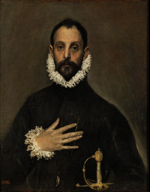 El Greco, The Knight with His Hand on His Breast, c. 1580