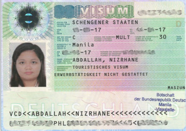 How To Get A German Schengen Visa for Philippine Passport