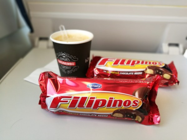 Filipino Stacks while en route to Barcelona