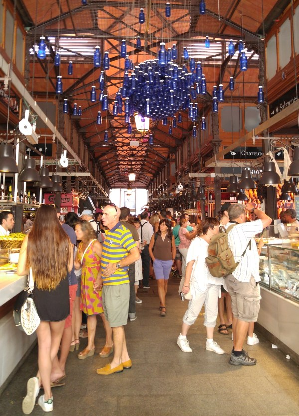 Inside Mercado de San Miguel