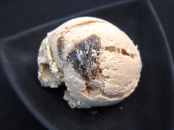 Kapeng Barako Ice Cream with Candied Kamias
