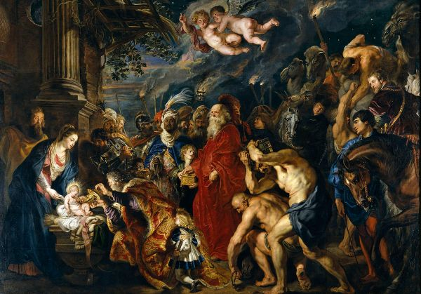 Peter Paul Rubens, The Adoration of the Magi, 1609/1628-1629