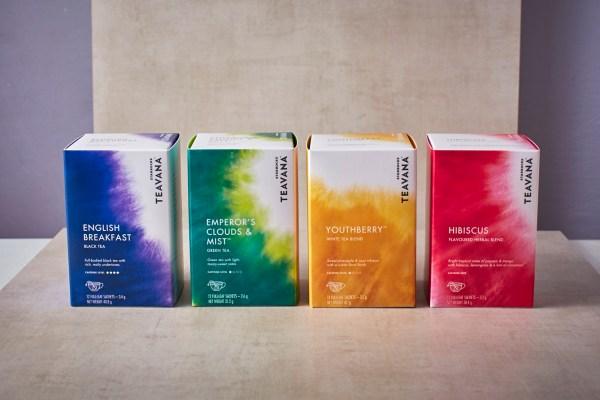 Starbucks Teavana Teas in Box