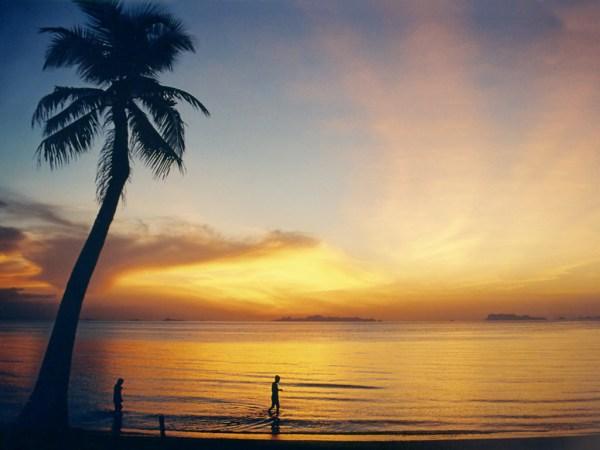 Sunset Beach in Ko Samui