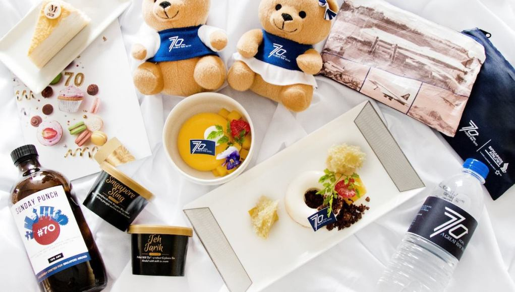7-Day Celebration for Singapore Airlines' 70th Anniversary