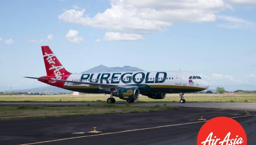 AirAsia x Puregold Plane Livery in Clark International Airport
