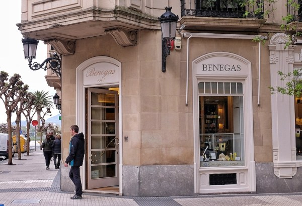 Benegas Perfume Shop in San Sebastian Spain
