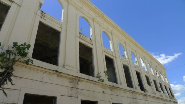 Check out old landmarks like Maritima Building