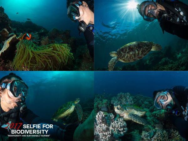 Danny Ocampo, 2016 Selfie for Biodiversity Runner Up