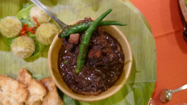 Dinuguan at Cafe Lorenzo