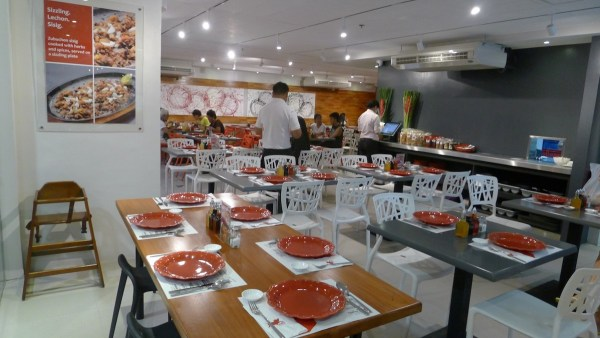 Interiors at Zubuchon SM City Cebu