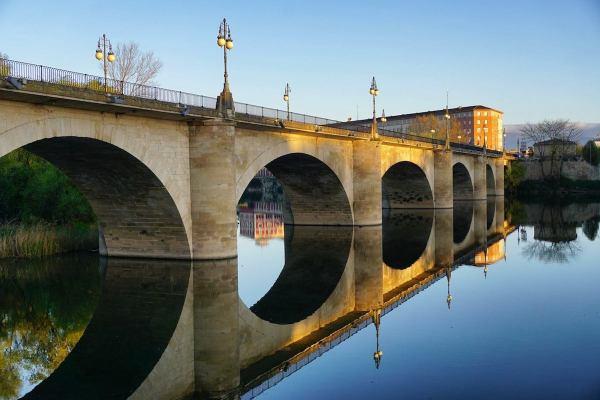 Stone Bridge in Logrono by Mark Angelo Acosta
