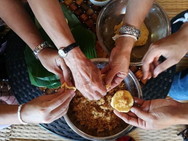 Thai Cooking Lessons at Ban Rai Kong Khing