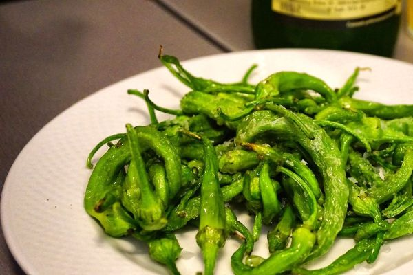 green chilies with rock salt photo by Mark Angelo Acosta