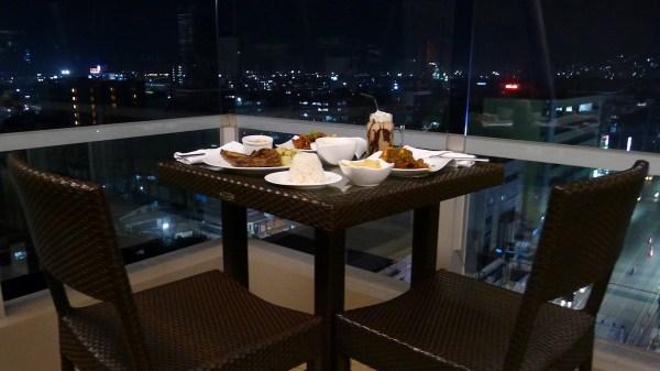Dinner at Lex Roof Deck