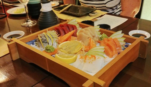 Japanese food from Mizu