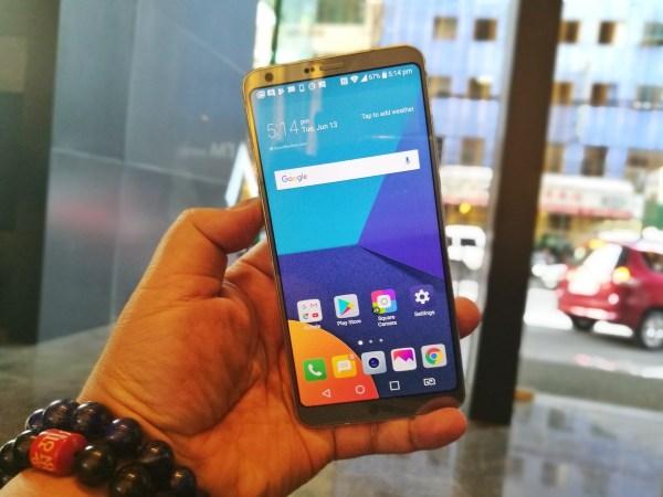 LG G6 Big Screen