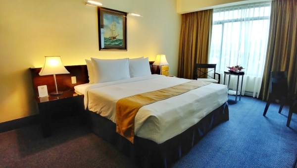 My room for two nights at Waterfront Cebu City Hotel and Casino Cebu City